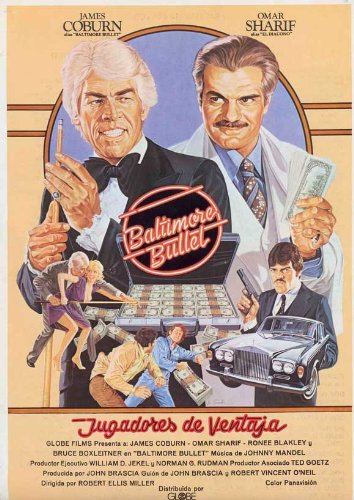 The Baltimore Bullet Plakat Movie Poster (27 x 40 Inches - 69cm x 102cm) (1980) Spanish