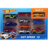 Montez Hot Speed 10 Pc Metal Masters Cars Gift Set Toy
