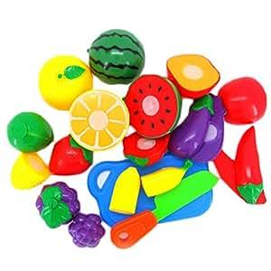 Peradix kit giocattolo gioco d 39 imitazione cucina frutta - Cucina bambini amazon ...