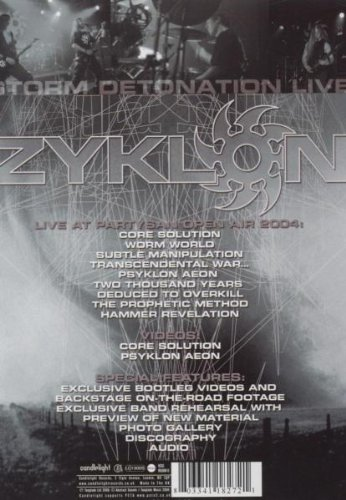 Zyklon - Storm Detonation: Live: Alle Infos bei Amazon