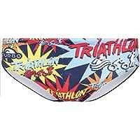 Turbo Triathlon New Star - Bañadores Hombre - Multicolor Talla M | US 32 2018