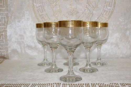 Bavary 6x Medusa Copas De Vino Blanco En Versac Style Elegante Y Acero Calidad Top Oferta Nuevo