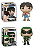 FunkoPOP Smallville: Clark Kent (Shirtless) + Green Arrow – Stylized TV Vinyl Figure Bundle Set NEW