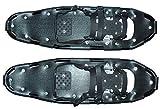 Racchette da neve 71x21 cm (coppia), nero con telaio in alluminio, compresi borsa per il trasporto