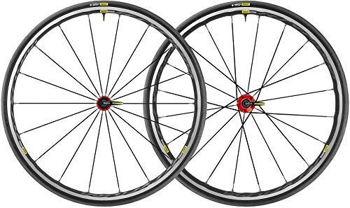 MAVIC Ksyrium Elite UST Laufradsatz Shimano/SRAM M-25 schwarz/rot 2019 26 Zoll -