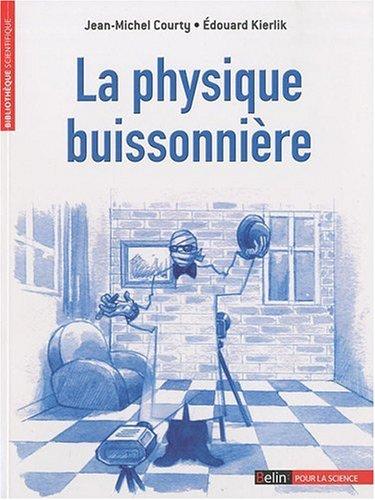 La Physique buissonnière par Jean-Michel Courty
