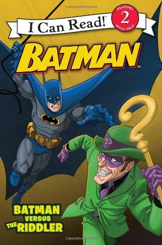 Batman Classic: Batman versus the Riddler (I Can Read Book 2) by Lemke, Donald (2014) Paperback