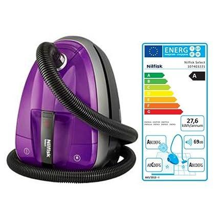 Nilfisk - Aspirador Select Comfort Parquet con filtro H 13