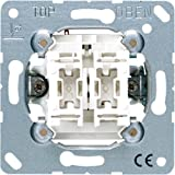 Jung 505U Serien - Interruptor oscilante