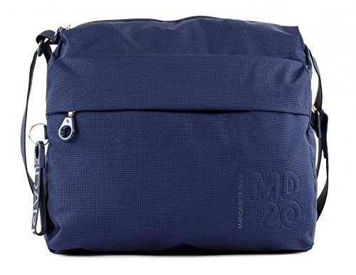 Mandarina Duck - Md20 Tracolla, Borse a spalla Donna Blu (Dress Blue)