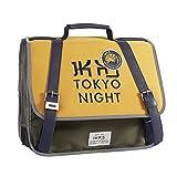 IKKS Backpacker In Tokyo Cartable, 35 cm, Citrus