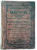 Produkt-Bild: Adressbuch Gleiwitz und Umgebung (Schlesien) 1910/11 für Ahnenforschung - eBook im PDF-Format auf CD