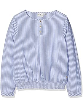 TOM TAILOR Mädchen Bluse Striped Blouse with Smocking