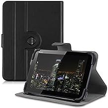 kwmobile Funda 360° para Sony Xperia Tablet Z4 Funda con soporte - Funda protectora tablet bolso piel sintética con función de soporte en negro