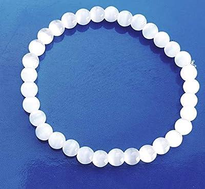 Bracelet Pierre de lune, 6 mm