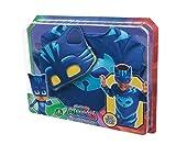 Giochi Preziosi- Super Pigiamini Pj Masks Costume Travestimento Gattoboy, Multicolore, Taglia Unica, PJM07100