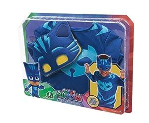 Giochi Preziosi PJ Masks PJM071 Traje de fantasía para niños - Trajes de fantasía para niños (Disfraz, Dibujos Animados, Niño/niña, Azul, 3 año(s), China)