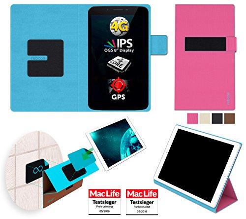 reboon Allview Viva H8 LTE Hülle Tasche Cover Case Bumper | Pink | Testsieger
