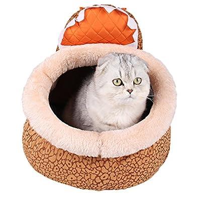 zuckerti Animales cama sofá cama para perros Perros con manta Alfombrilla para Pet perro gato mascotas en color de 2y 7tamaños (XXS/XS/S/M/L/XL).