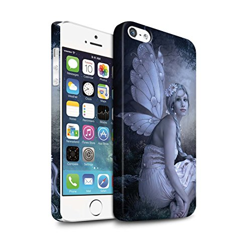 Offiziell Elena Dudina Hülle / Matte Snap-On Case für Apple iPhone X/10 / Wald Nymphe Muster / Elegante Feen Kollektion Fee von das Land