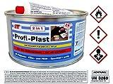 STC 2 kg Profi Plast 2in1 2K Karosserie Polyester Spachtelmasse Füllspachtel Feinspachtel Dose inkl. Härter