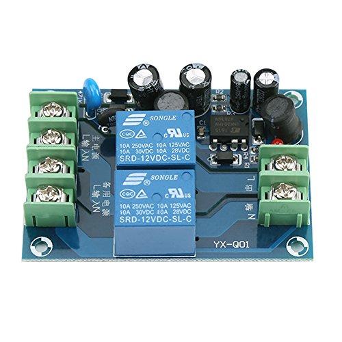 Wechselstrom 85-240V 2-Wege-Stromverteiler 110V 220V 230V 10A Dual-Stromversorgung Automatisches Schaltmodul YX-Q01 -
