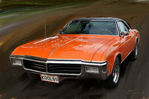 buick-riviera-1969-peinture-numerique-sur-toile-40x60-cm