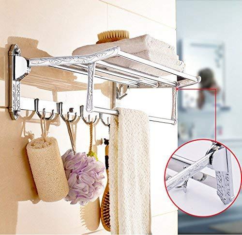 PQPQPQ Handtuchhalter Europäische Fach Edelstahl Badezimmer Wand In Der Galvanik Prozess Handtuch Rack Europäische Fach