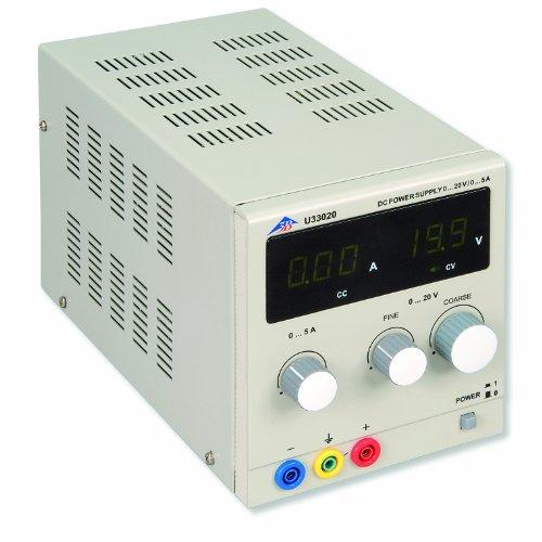 3B Scientific U33020-230 DC-Netzgerät, 0V-20V, 0 Amp-5 Amp, 230V, 50 Hz/60 Hz 5/5/3 Amps