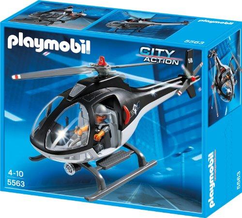 Preisvergleich Produktbild PLAYMOBIL 5563 - SEK-Helikopter
