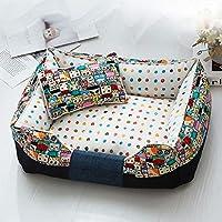 JM- Cama para perros, sofá súper suave para mascotas Cama para gatos, tumbona