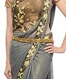 #6: Shining Diva Antique Gold Ethnic Kamarband For Women
