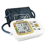 Professionnel Tensiomètre Numérique ,BROADCARE Tensiomètre Electronique au Bras avec Écran LCD,2 utilisateurs Stockage de Mémoire(2x99) et Charge USB pour mesure du Tension artérielle et du fréquence