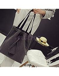 ELECTROPRIME Women Retro Canvas Holdall Tool Crossbody Shoulder Bag Tote Shopper Handbag