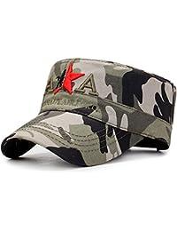 Yooeen Berretto Militare Uomo Cappellini da Baseball Classico Regolabile  Cappello Cotone 3fc310af5bb3