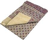 Quilt, Steppdecke, Tagesdecke Bettüberwurf, Besticktes Tuch, Indischer Bettüberwurf, Tagesdecke - Muster 28 / Steppdecken, Quilts