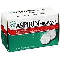 Preisvergleich für Aspirin Migräne Brausetabletten