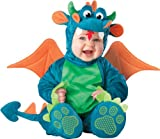 InCharacter Unisex-baby Infant Dragon Costume, Teal/Green, Medium (12 - 18 Months)