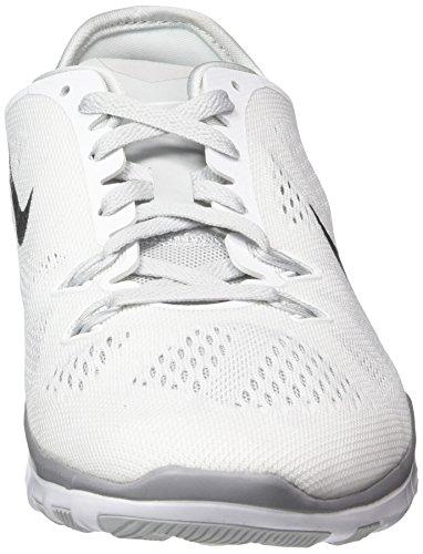 Nike Wmns Free 5.0 Tr Fit 5, Scarpe da Corsa Donna Multicolore (White/Black)