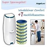 Angelcare Windeleimer Comfort inkl. 7 Kassetten