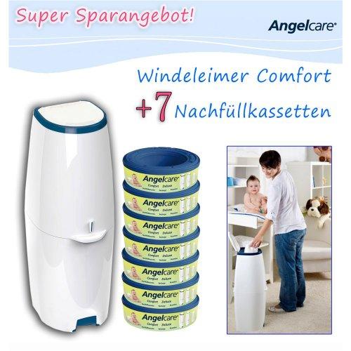 Angelcare Windeleimer Comfort 2785 inkl. 7 Kassetten