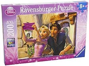 Ravensburger - 12614 - Puzzle Enfant Classique  - Raiponce - A la Fête des Lumières 200 Pièces XXL