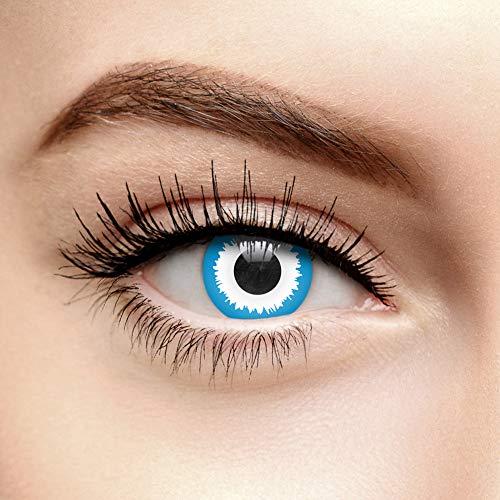 ChromaView Elf Farbige Kontaktlinsen Ohne Stärke Blau (30 ()