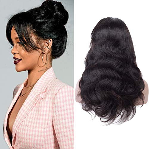 Lace Wigs Shd Brown Color 13*6 Lace Front Wigs With Baby Hair Pre Plucked Brazilian Remy Human Hair 360 Lace Frontal Wig Body Wave Wigs Large Assortment