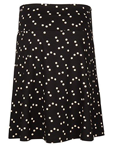 King Louie Rock BORDER SKIRT STAR Black