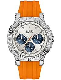 GUESS Analog Silver Dial Men's Watch - W0966G1