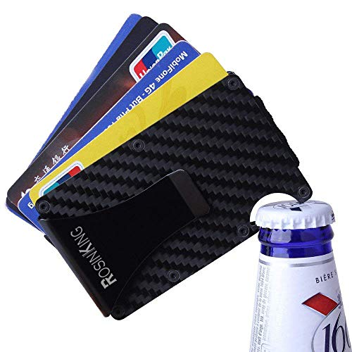 RosinKing Kreditkartenetui Portemonnaie RFID & NFC Schutz Edles -