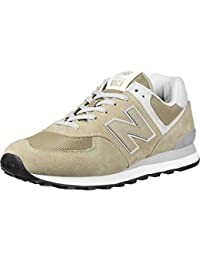 New Balance Real 574 Leather Sneaker Mens Beige