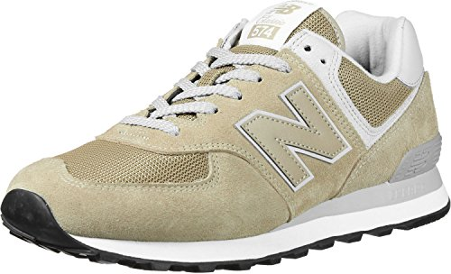 New Balance Classics ML574EBE Chaussures pour Hommes Beige Chaussures Homme Sneaker Baskets Pointure: EU 45 US 11