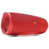 JBL Charge 4 Portable Waterproof Bluetooth Speaker - Red, JBLcharge4Rd